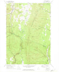 Download a high-resolution, GPS-compatible USGS topo map for Warren, VT (1972 edition)