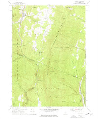 Download a high-resolution, GPS-compatible USGS topo map for Warren, VT (1977 edition)