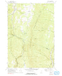 Download a high-resolution, GPS-compatible USGS topo map for Warren, VT (1991 edition)