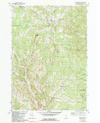 Download a high-resolution, GPS-compatible USGS topo map for Washington, VT (1990 edition)