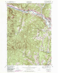 Download a high-resolution, GPS-compatible USGS topo map for Waterbury, VT (1981 edition)