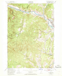 Download a high-resolution, GPS-compatible USGS topo map for Waterbury, VT (1969 edition)