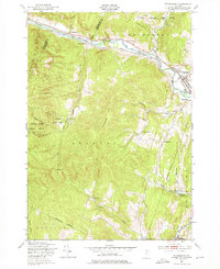 Download a high-resolution, GPS-compatible USGS topo map for Waterbury, VT (1976 edition)