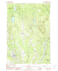 Download a high-resolution, GPS-compatible USGS topo map for West Burke, VT (1988 edition)