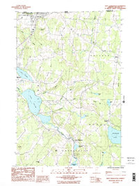 Download a high-resolution, GPS-compatible USGS topo map for West Charleston, VT (1987 edition)