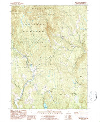 Download a high-resolution, GPS-compatible USGS topo map for West Dover, VT (1987 edition)