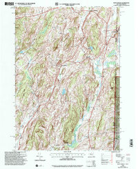 Download a high-resolution, GPS-compatible USGS topo map for West Pawlet, VT (2000 edition)