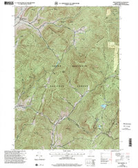 Download a high-resolution, GPS-compatible USGS topo map for West Rupert, VT (2000 edition)