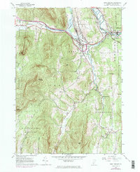 Download a high-resolution, GPS-compatible USGS topo map for West Rutland, VT (1984 edition)