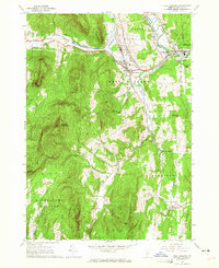 Download a high-resolution, GPS-compatible USGS topo map for West Rutland, VT (1965 edition)