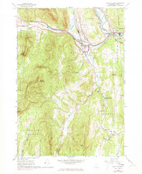 Download a high-resolution, GPS-compatible USGS topo map for West Rutland, VT (1973 edition)