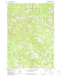 Download a high-resolution, GPS-compatible USGS topo map for West Topsham, VT (1981 edition)