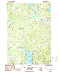 Download a high-resolution, GPS-compatible USGS topo map for Westmore, VT (1986 edition)