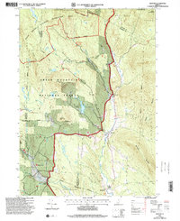 Download a high-resolution, GPS-compatible USGS topo map for Weston, VT (2000 edition)