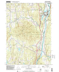 Download a high-resolution, GPS-compatible USGS topo map for Windsor, VT (2002 edition)