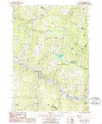 Download a high-resolution, GPS-compatible USGS topo map for Wolcott, VT (1987 edition)
