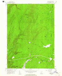 Download a high-resolution, GPS-compatible USGS topo map for Woodford, VT (1961 edition)