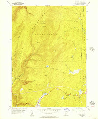 Download a high-resolution, GPS-compatible USGS topo map for Woodford, VT (1957 edition)