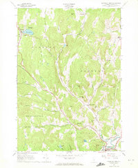 Download a high-resolution, GPS-compatible USGS topo map for Woodstock North, VT (1972 edition)