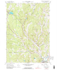 Download a high-resolution, GPS-compatible USGS topo map for Woodstock North, VT (1988 edition)