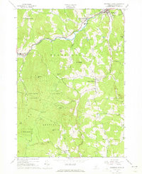 Download a high-resolution, GPS-compatible USGS topo map for Woodstock South, VT (1973 edition)