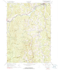 Download a high-resolution, GPS-compatible USGS topo map for Woodstock South, VT (1999 edition)