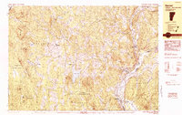 Download a high-resolution, GPS-compatible USGS topo map for Barnet, VT (1983 edition)