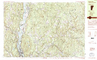 Download a high-resolution, GPS-compatible USGS topo map for Bellows Falls, VT (1985 edition)