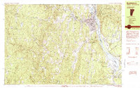 Download a high-resolution, GPS-compatible USGS topo map for Brattleboro, VT (1984 edition)