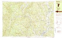 Download a high-resolution, GPS-compatible USGS topo map for Newfane, VT (1984 edition)