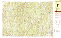 Download a high-resolution, GPS-compatible USGS topo map for Saxtons River, VT (1984 edition)