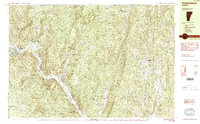 Download a high-resolution, GPS-compatible USGS topo map for Townshend, VT (1984 edition)