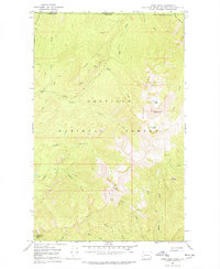 USGS 1:24000-scale Quadrangle for Gypsy Peak, WA 1967 - Data gov
