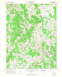 Download a high-resolution, GPS-compatible USGS topo map for Adrian, WV (1967 edition)