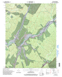 Download a high-resolution, GPS-compatible USGS topo map for Alvon, WV (1998 edition)