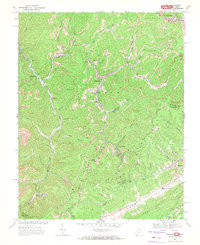 Download a high-resolution, GPS-compatible USGS topo map for Anawalt, WV (1972 edition)