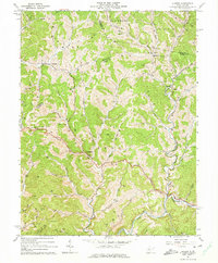 Download a high-resolution, GPS-compatible USGS topo map for Auburn, WV (1974 edition)
