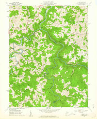 Download a high-resolution, GPS-compatible USGS topo map for Audra, WV (1962 edition)