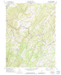 Download a high-resolution, GPS-compatible USGS topo map for Augusta, WV (1988 edition)