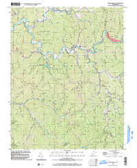 Download a high-resolution, GPS-compatible USGS topo map for Baileysville, WV (2003 edition)