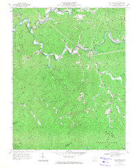 Download a high-resolution, GPS-compatible USGS topo map for Baileysville, WV (1971 edition)