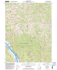 Download a high-resolution, GPS-compatible USGS topo map for Bancroft, WV (2000 edition)