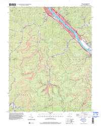 Download a high-resolution, GPS-compatible USGS topo map for Belle, WV (2000 edition)