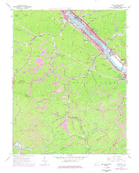 Download a high-resolution, GPS-compatible USGS topo map for Belle, WV (1978 edition)