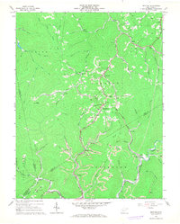 Download a high-resolution, GPS-compatible USGS topo map for Bentree, WV (1968 edition)