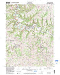 Download a high-resolution, GPS-compatible USGS topo map for Bethany, WV (2000 edition)