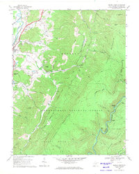 Download a high-resolution, GPS-compatible USGS topo map for Beverly East, WV (1971 edition)