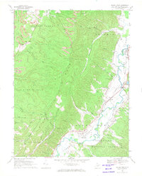 Download a high-resolution, GPS-compatible USGS topo map for Beverly West, WV (1971 edition)