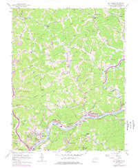 Download a high-resolution, GPS-compatible USGS topo map for Big Chimney, WV (1978 edition)