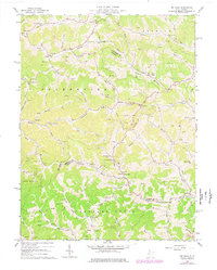 Download a high-resolution, GPS-compatible USGS topo map for Big Isaac, WV (1977 edition)